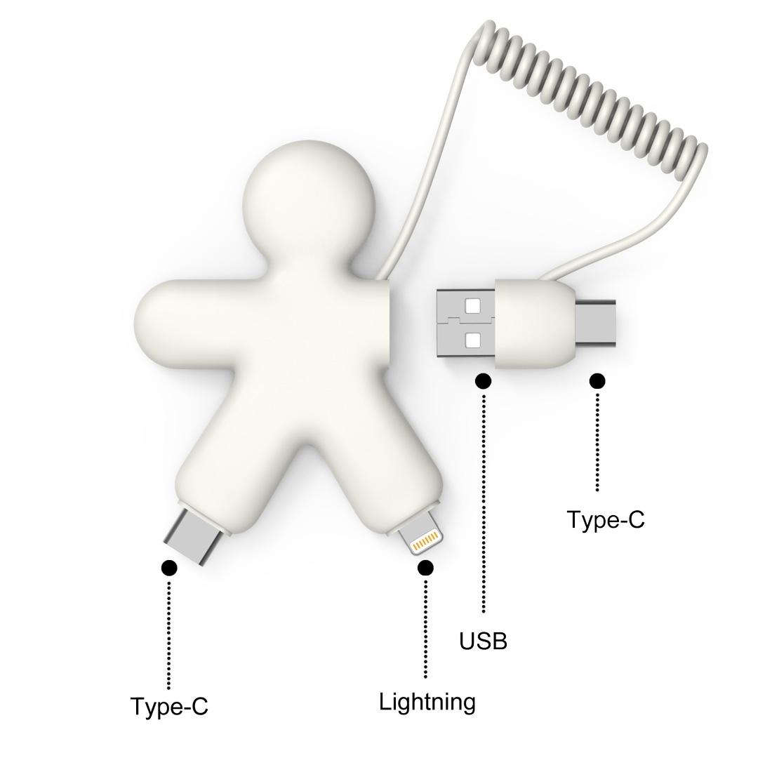 Câble éco multi-connecteurs Buddy - 88-1036-4