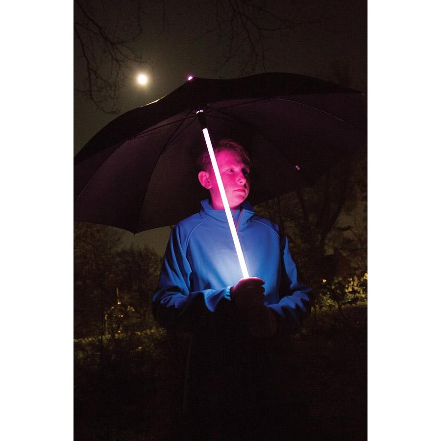 Parapluie sabre laser LED