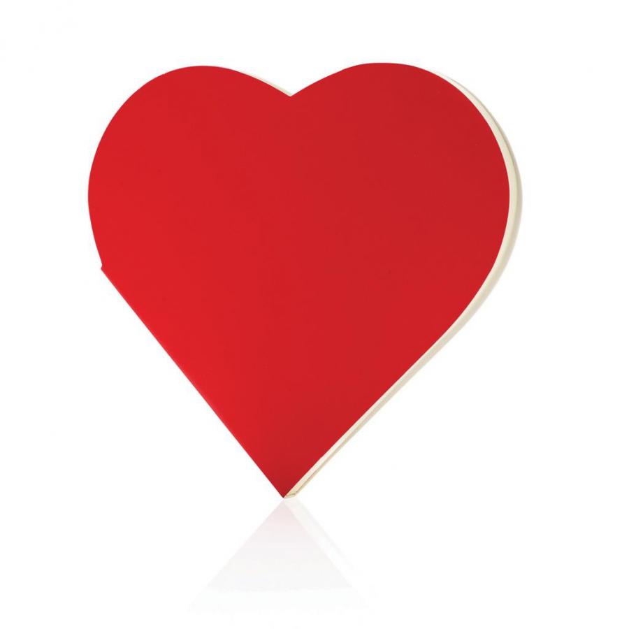 Carnet de notes cœur