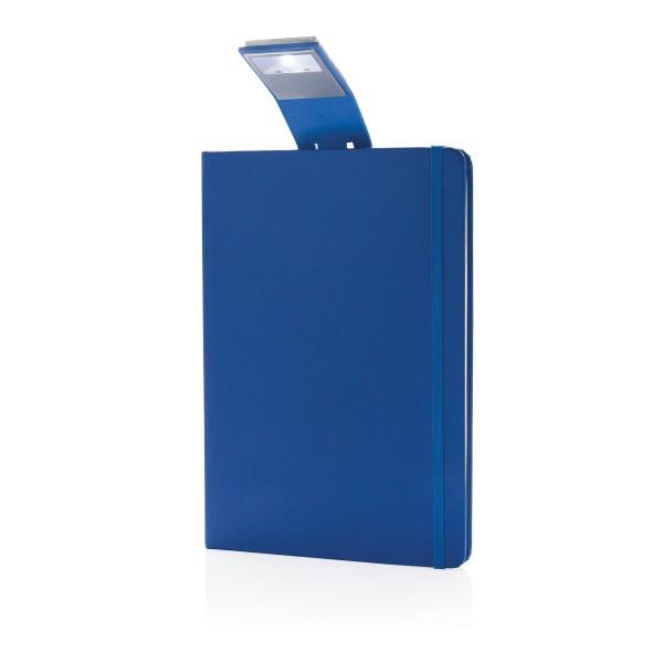 Carnet de notes A5 avec marque-page LED