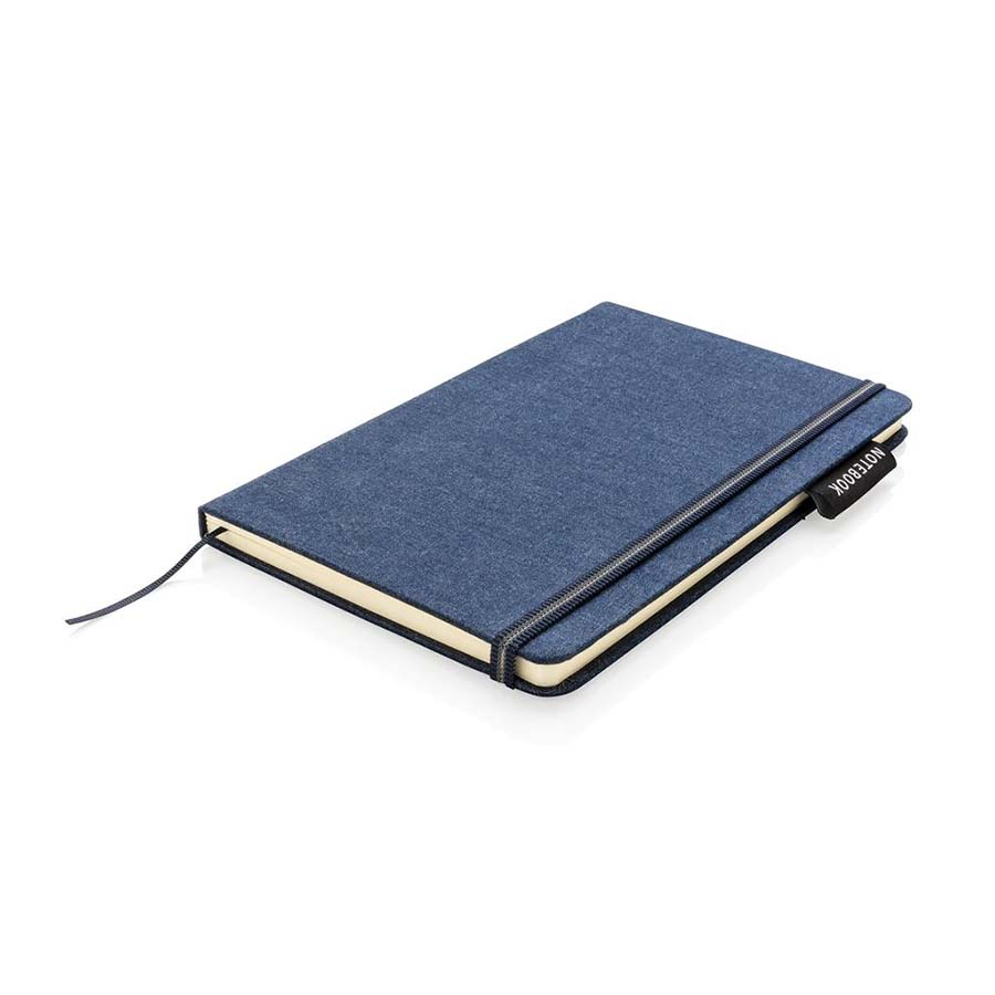 Carnet de notes A5 en denim
