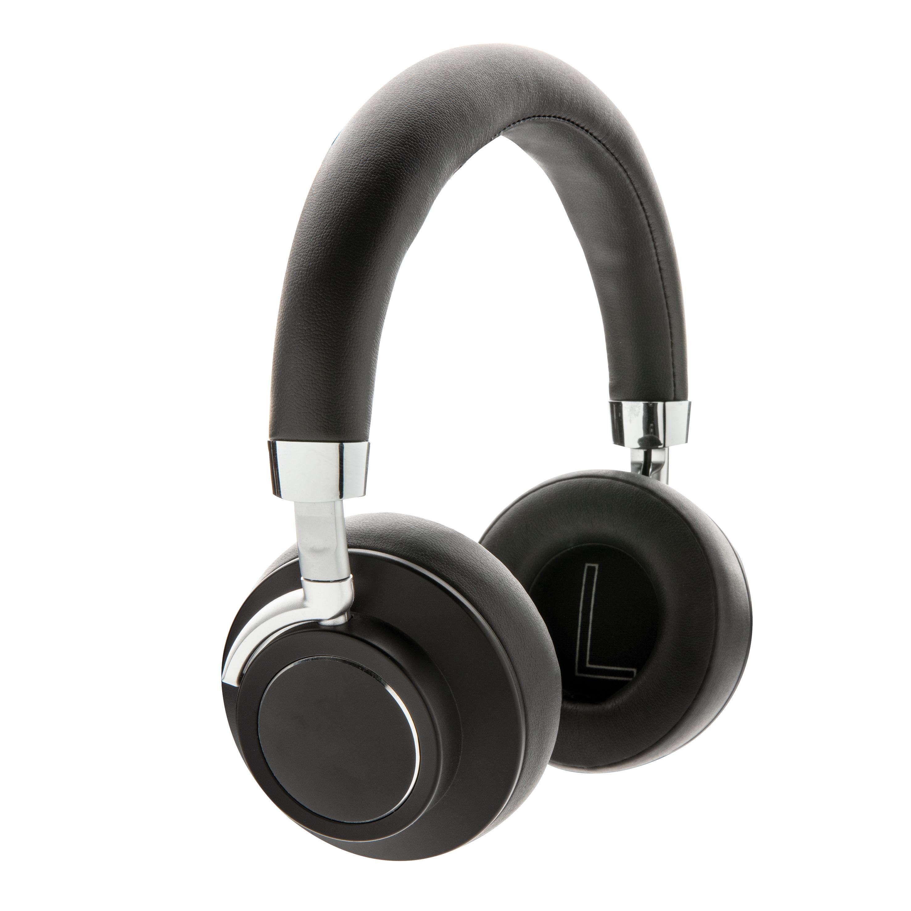 Casque audio en aluminium et PU