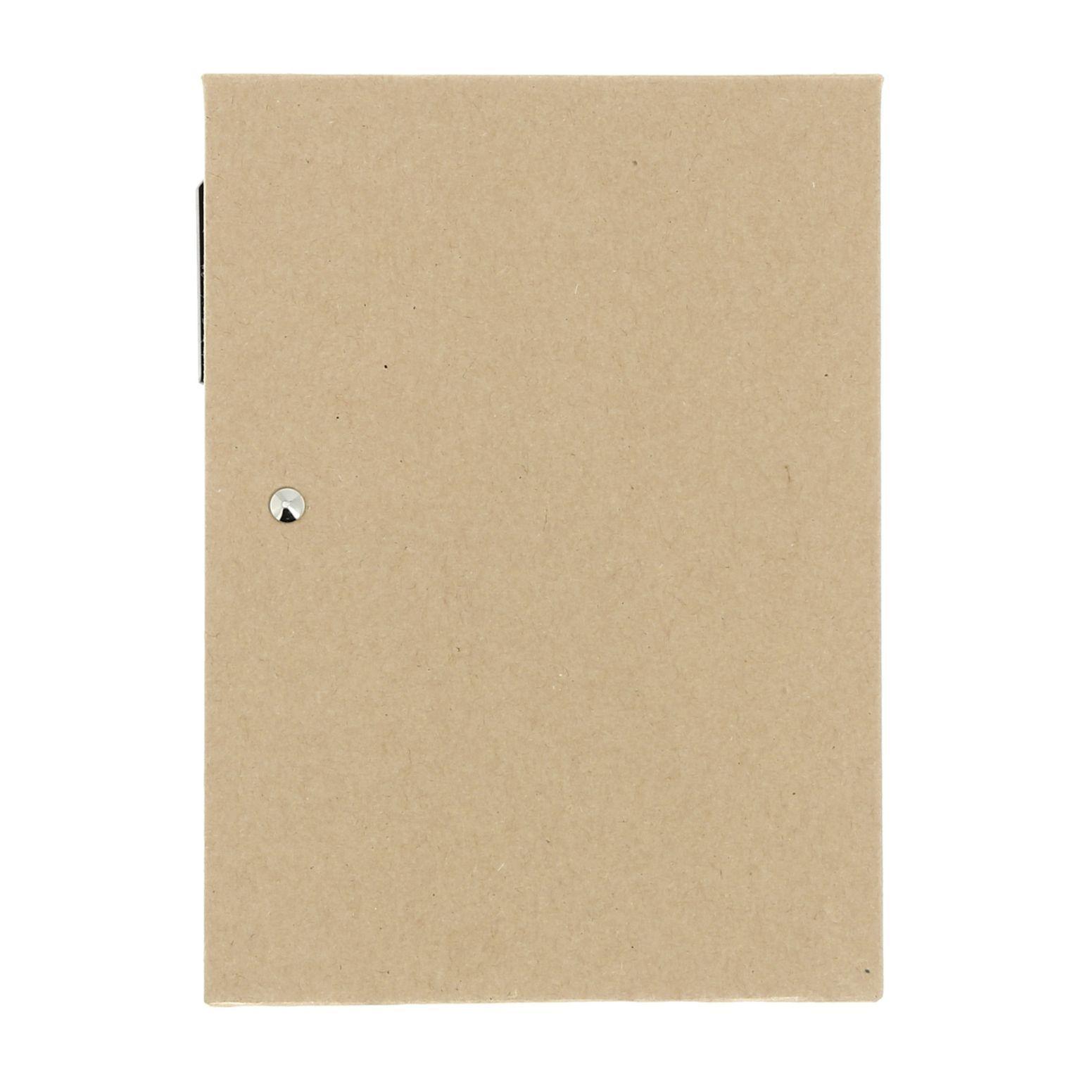 Carnet feuilles + marque-pages adhésifs et stylo bille - Y1806-003-id1023
