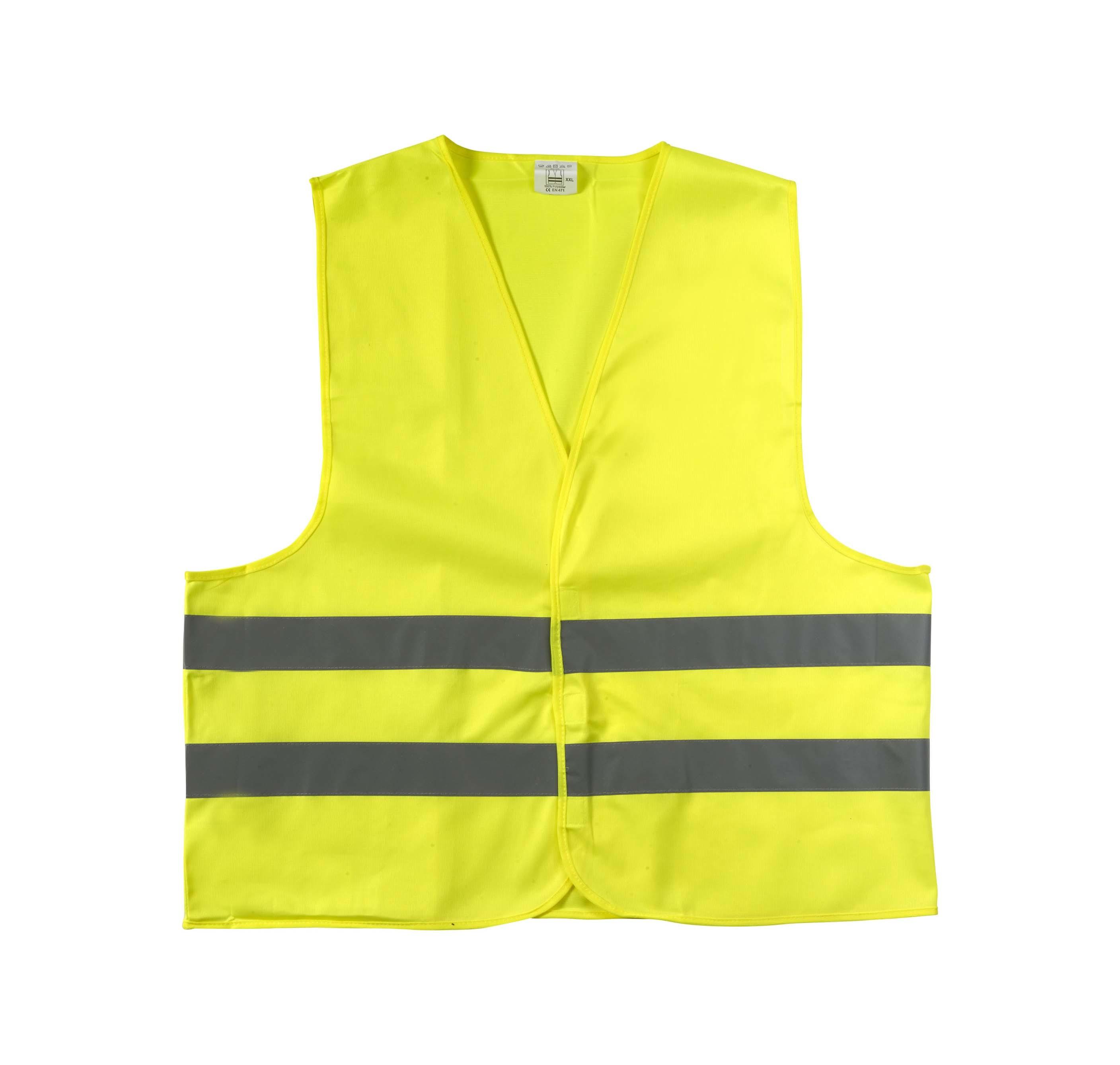 Gilet de sécurité en polyester pour adulte