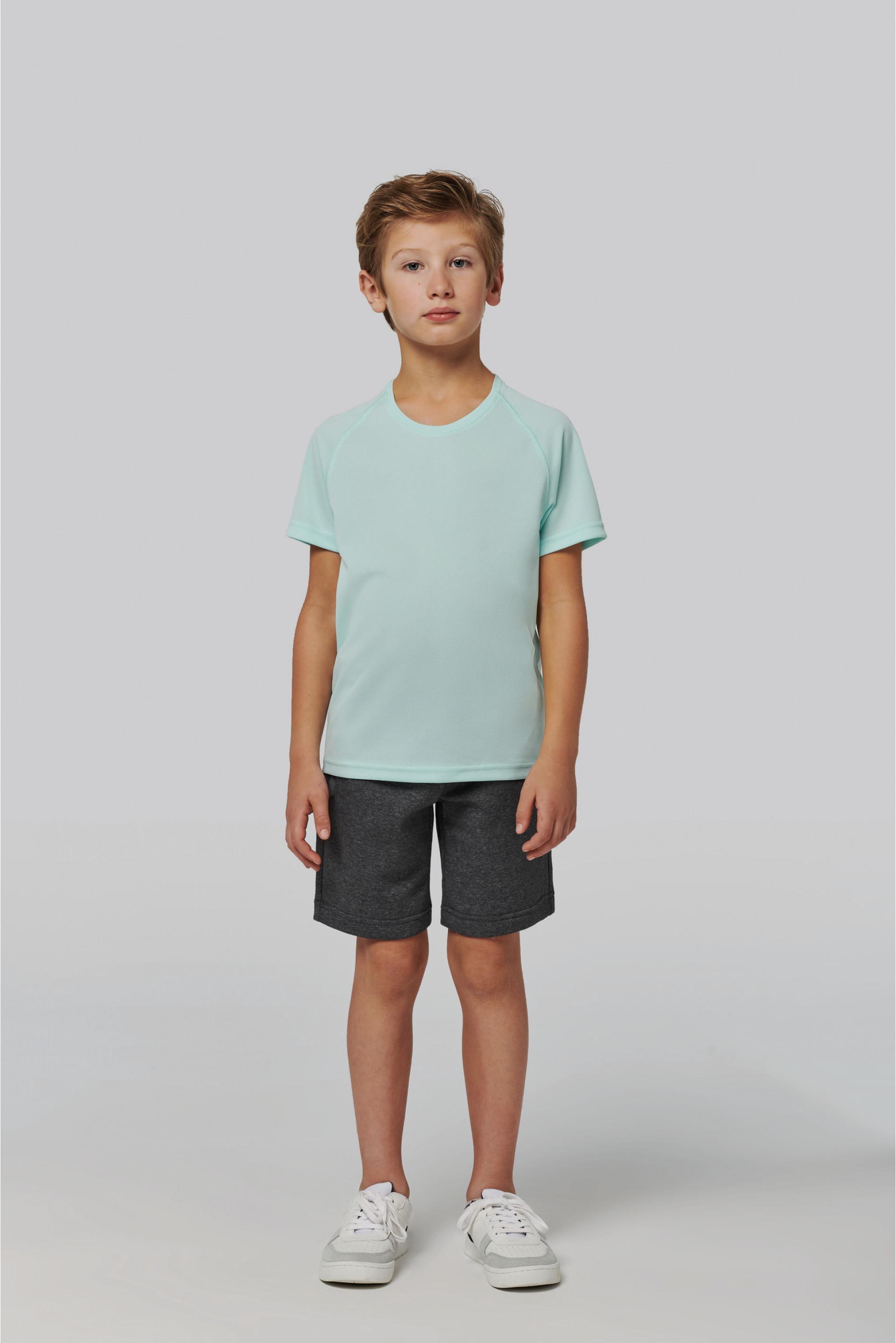 Tee-shirt sport manches courtes enfant