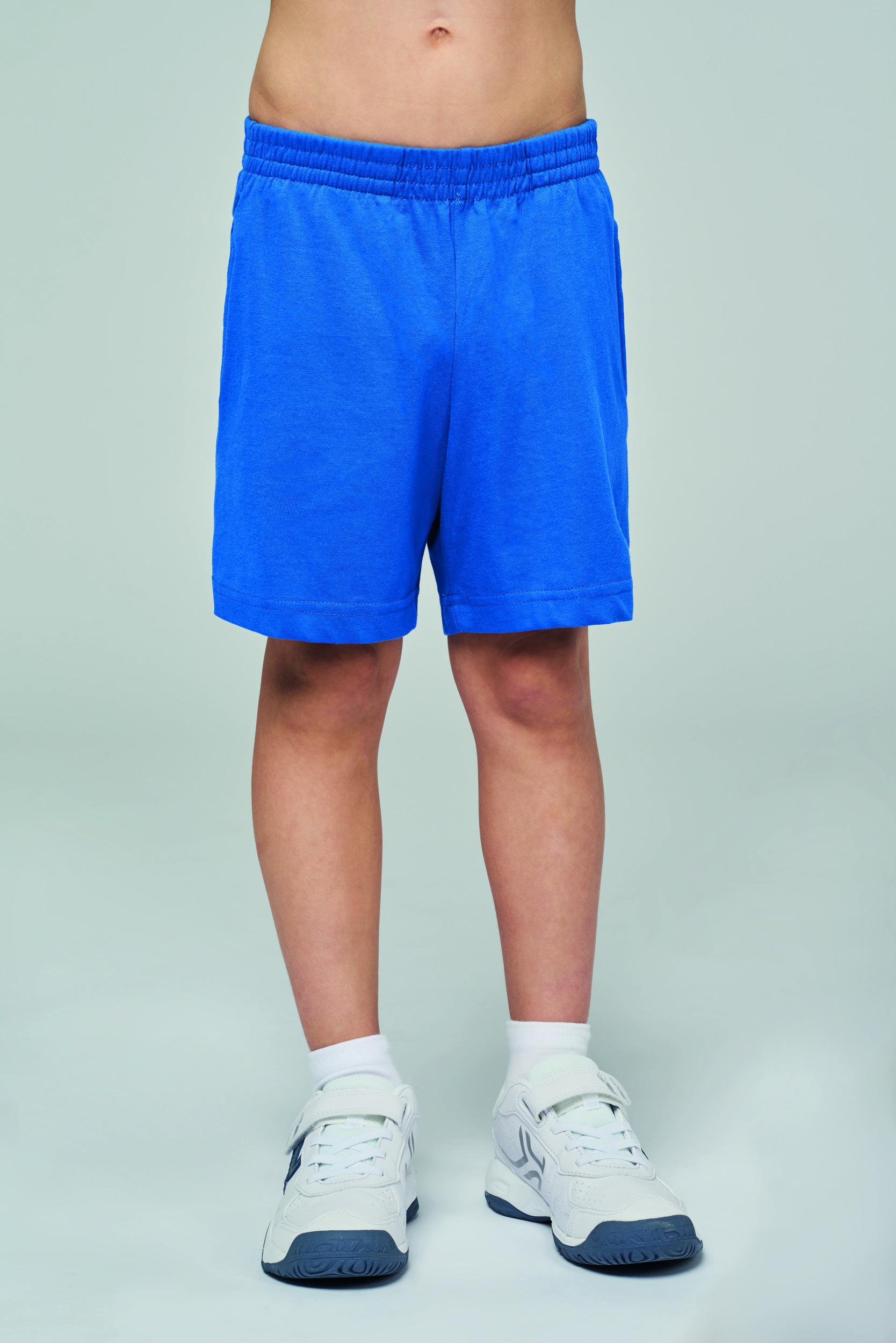 Short jersey sport enfant