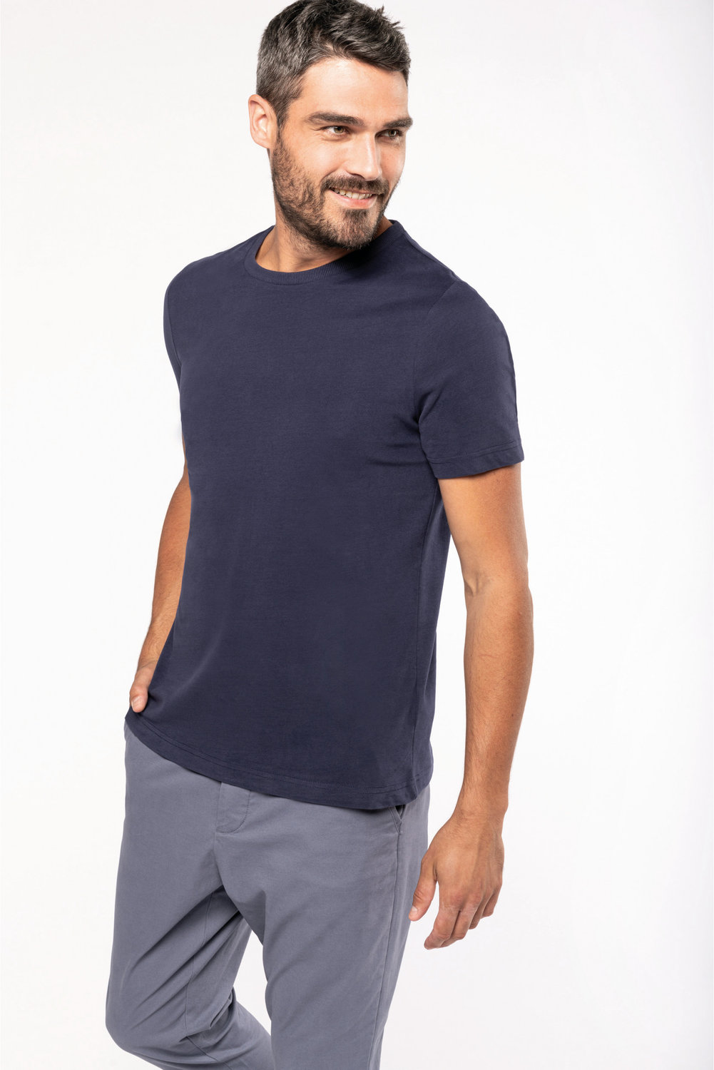 Tee-shirt vintage manches courtes homme