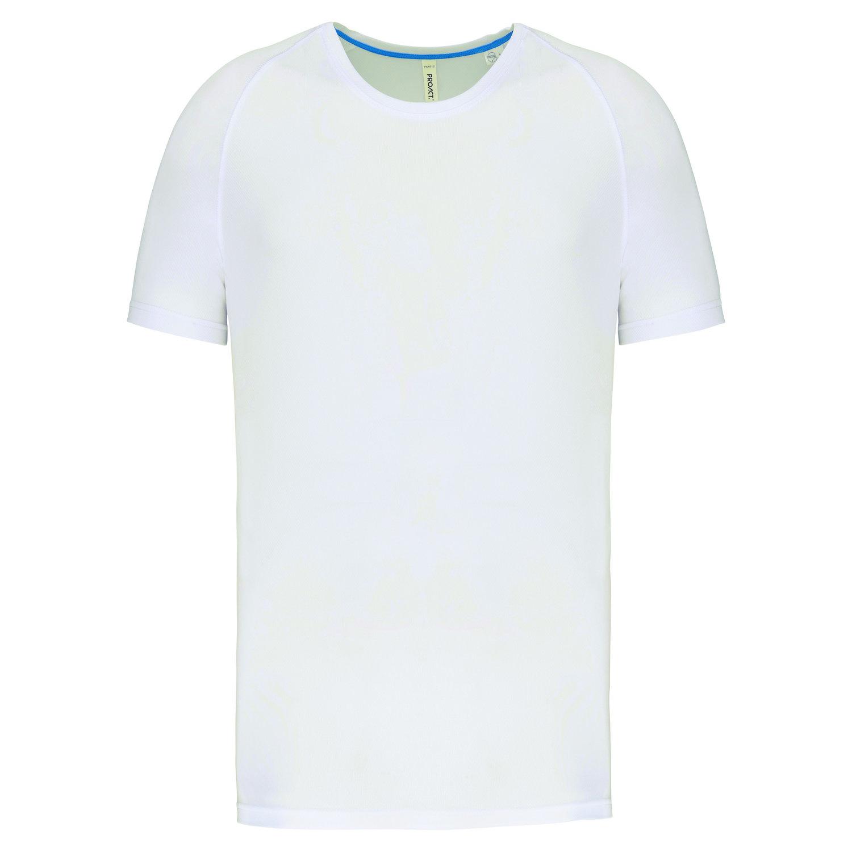 Tee-shirt de sport à col rond recyclé homme - 2-1767-10