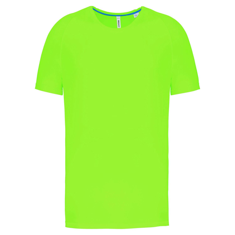 Tee-shirt de sport à col rond recyclé homme - 2-1767-5