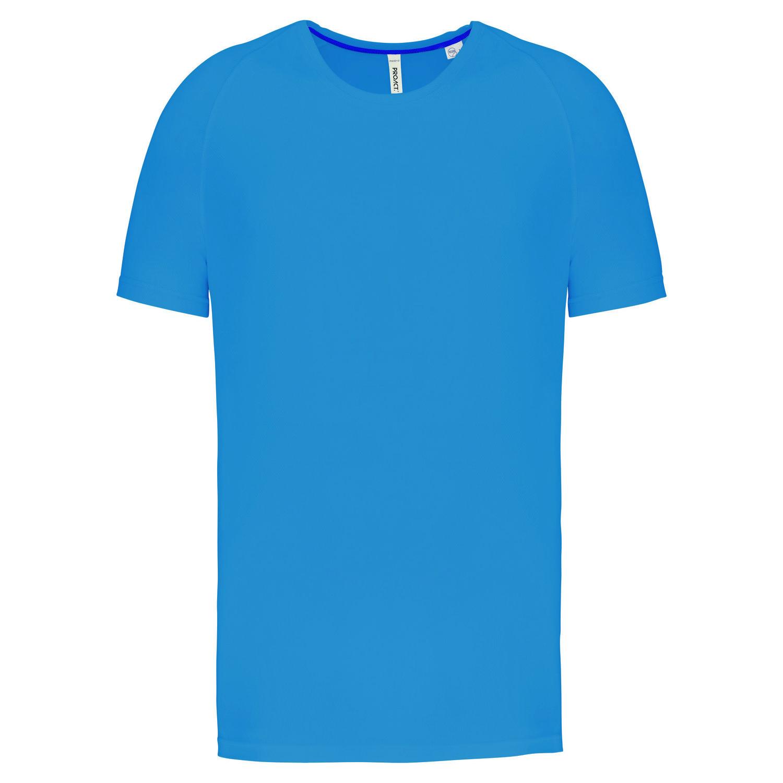 Tee-shirt de sport à col rond recyclé homme - 2-1767-6