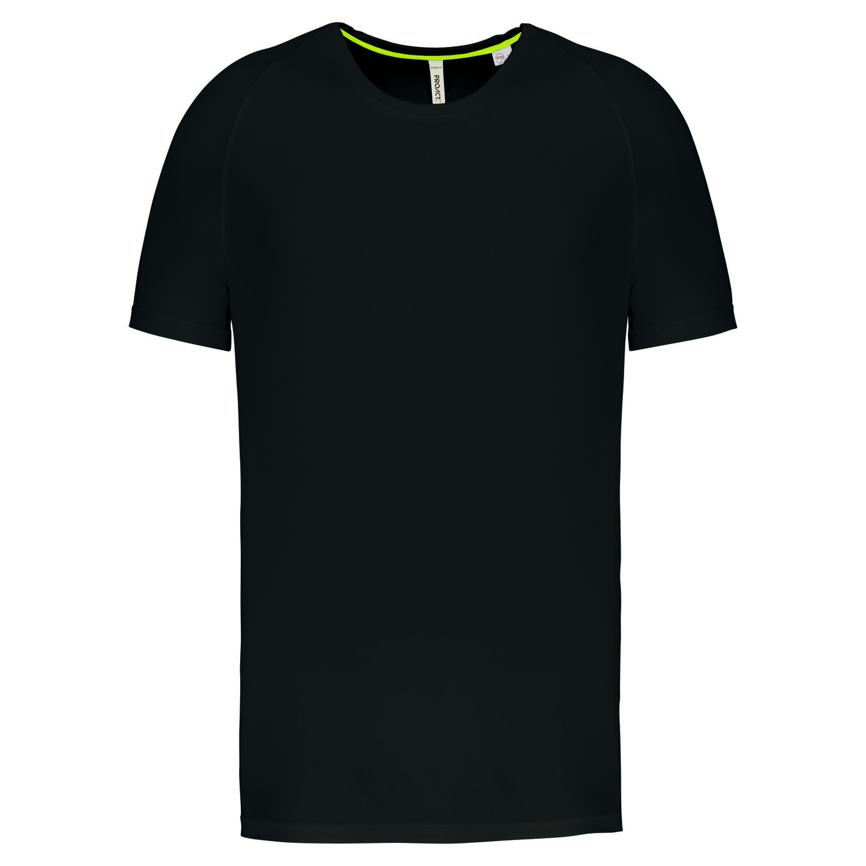 Tee-shirt de sport à col rond recyclé homme - 2-1767-7