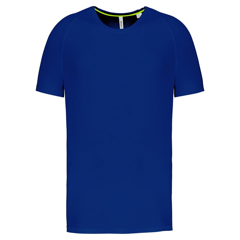 Tee-shirt de sport à col rond recyclé homme - 2-1767-8