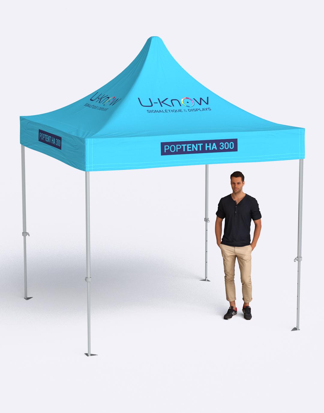 Tente en aluminium 3x3m