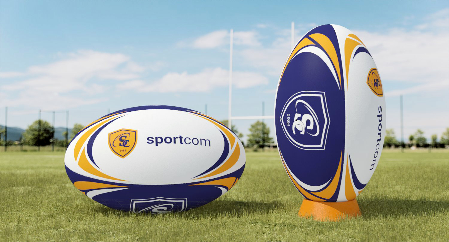 Ballon Rugby Rubber Training