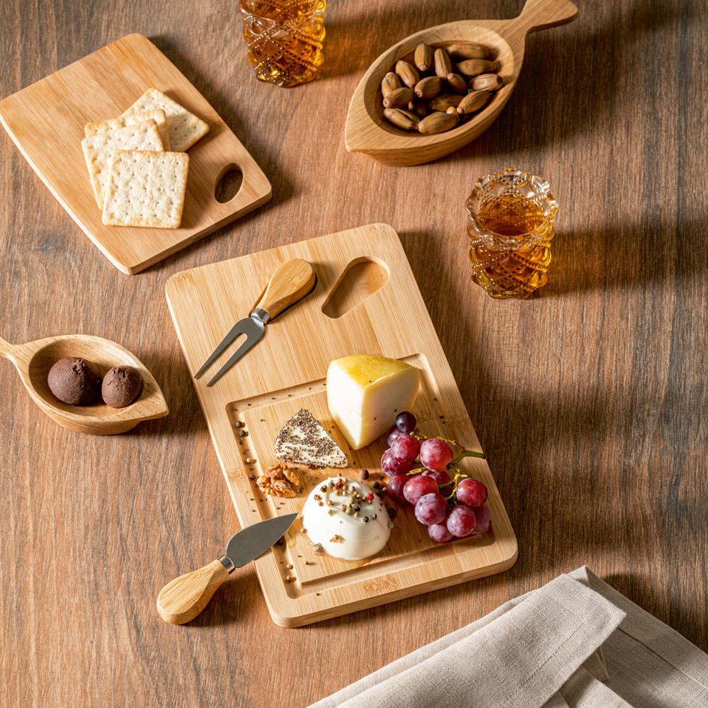 Plateau à fromage en bambou