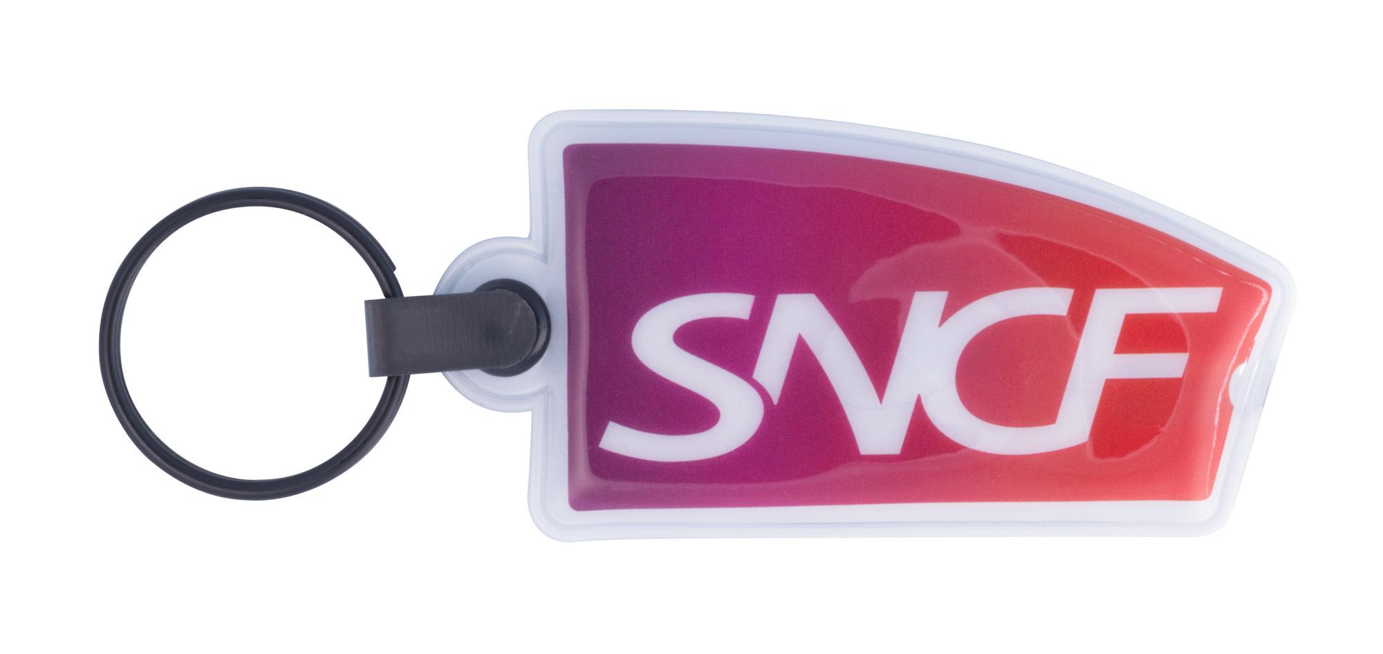 Porte-clés lampe PVC flex