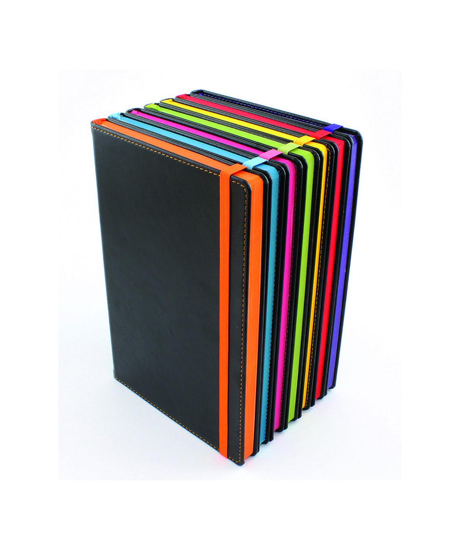 Carnet de note tranche colorée A5