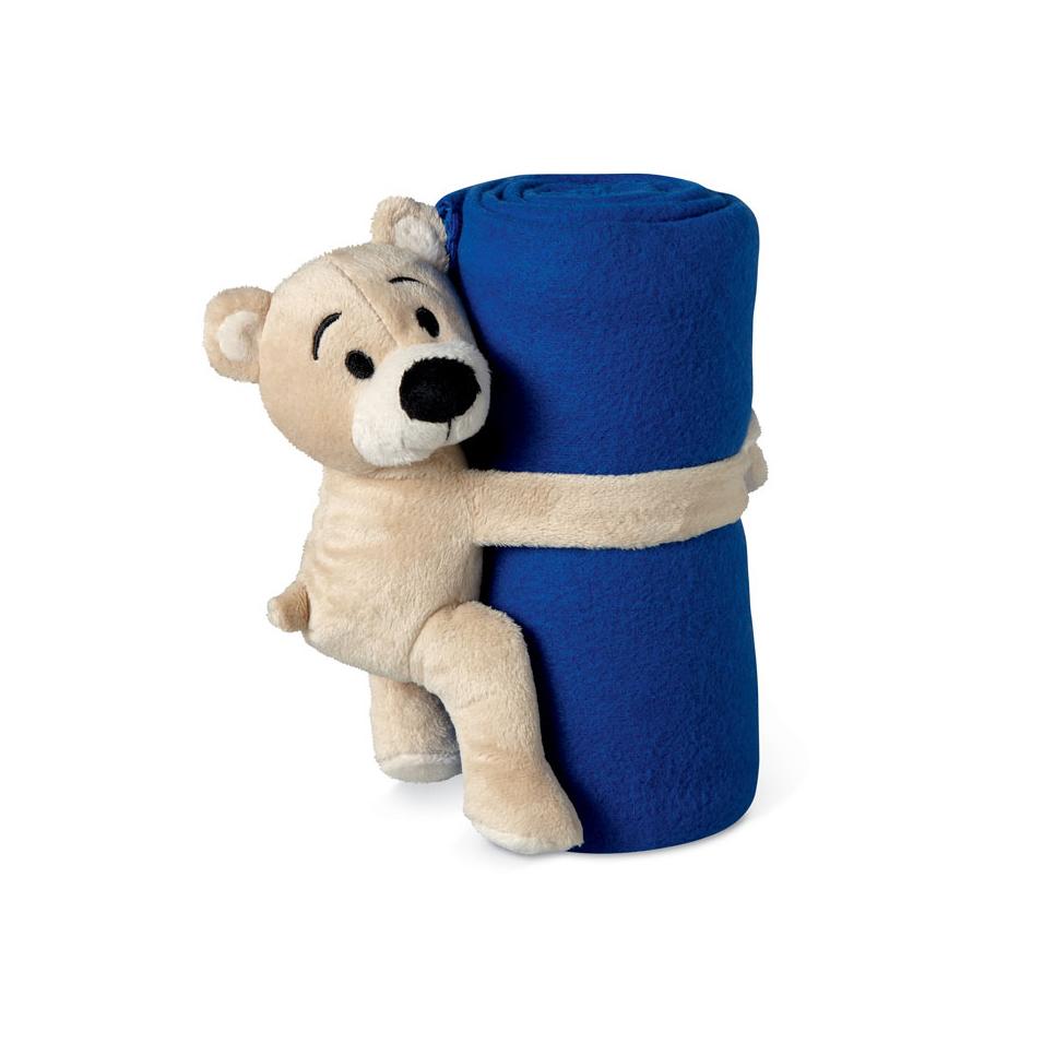 Couverture polaire avec ours Manta