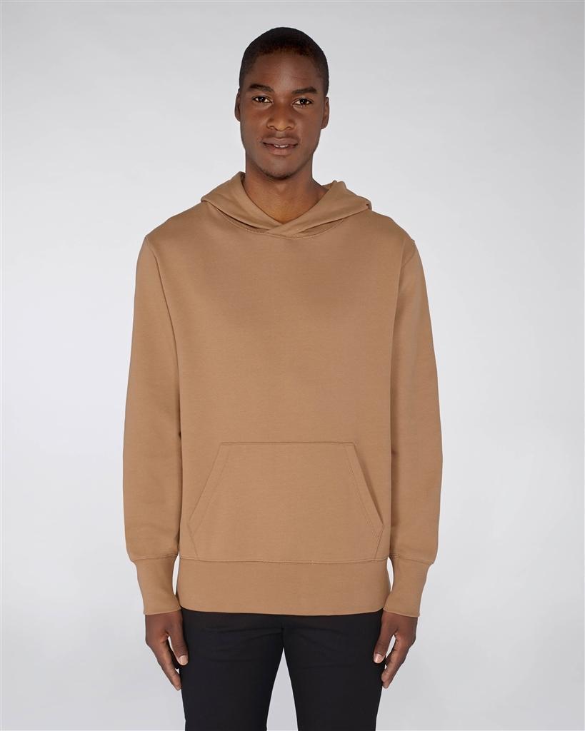 Sweat-shirt ample à capuche avec poche kangou