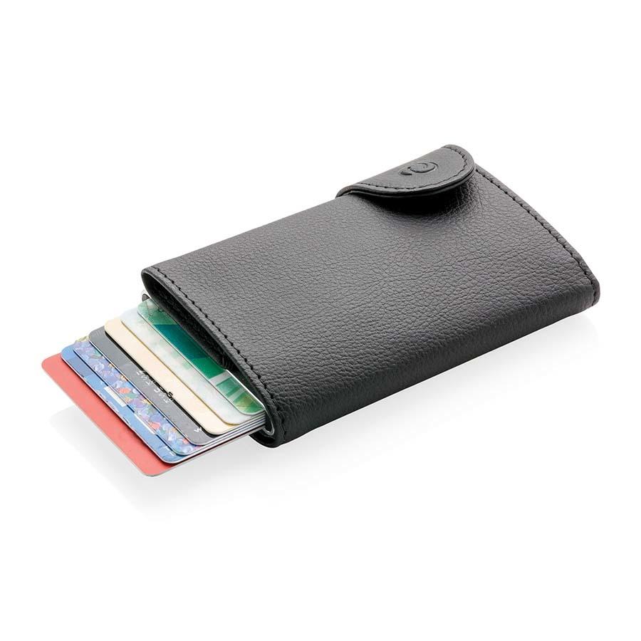 Porte-cartes portefeuille anti-RFID C-Secure