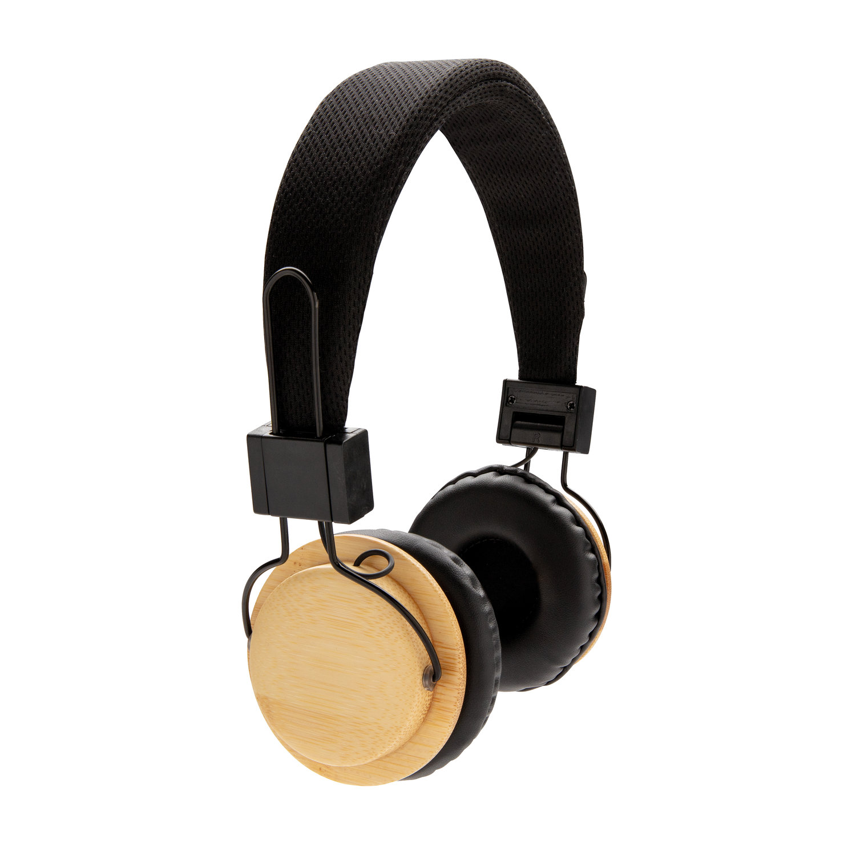Casque audio sans fil en bambou - 9-1859-1