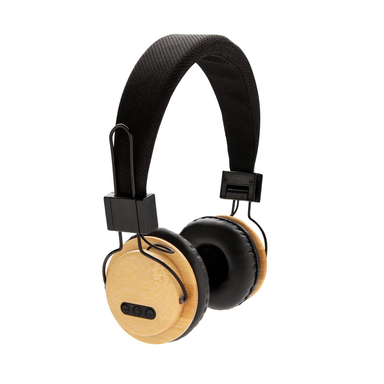 Casque audio sans fil en bambou - 9-1859-3