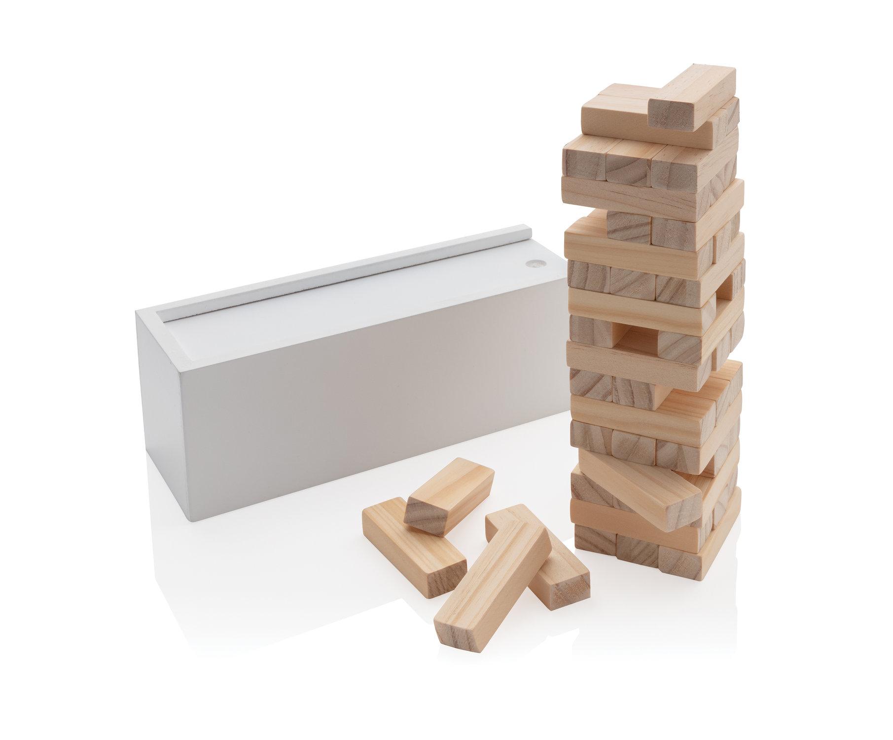 Jeu de blocs en bois Deluxe