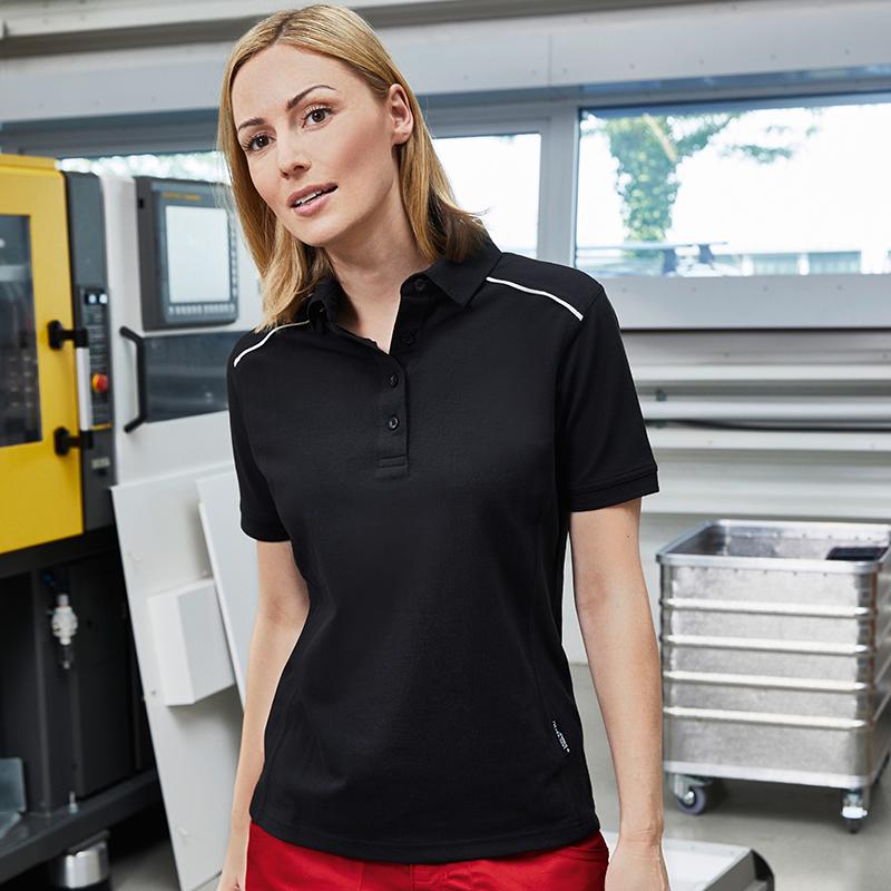 Polo workwear bio femme