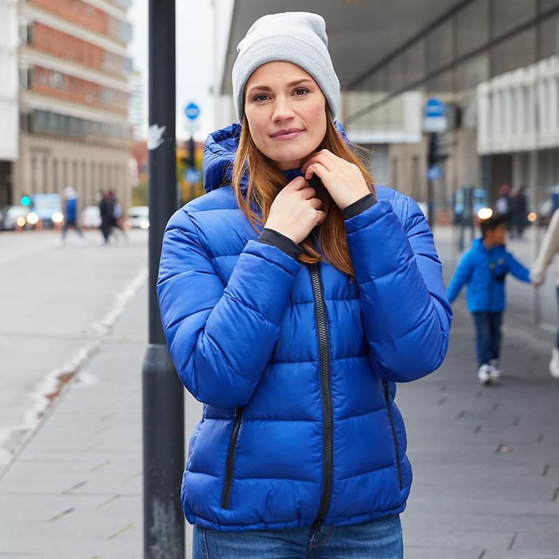 Veste matelassée hiver femme