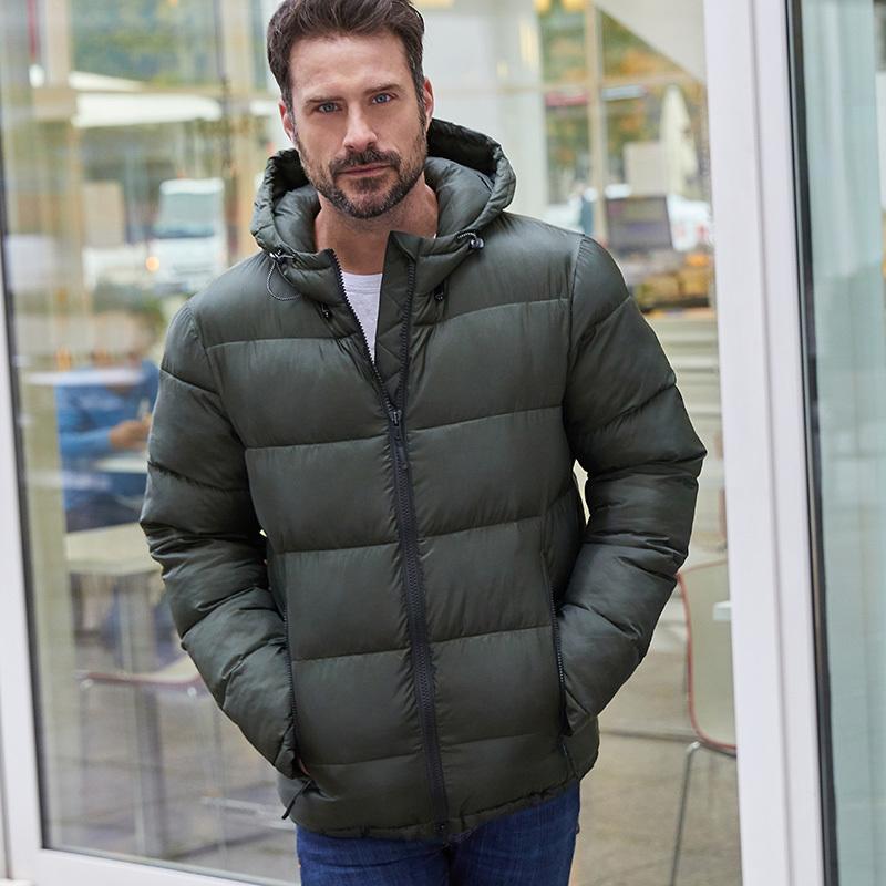 Veste matelassée hiver homme