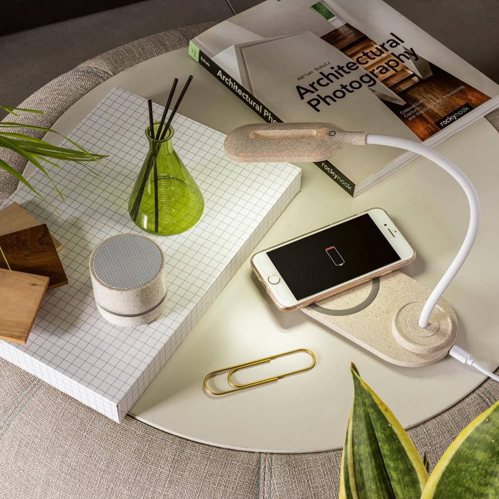 Lampe de bureau avec chargeur sans fil Ozzel²