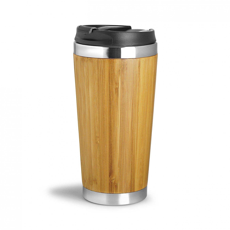 Mug isotherme leakproof Wood You