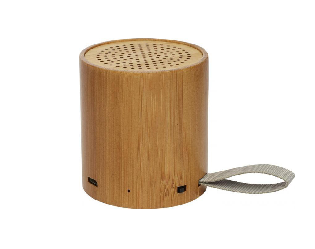 Haut-parleur Bluetooth® Lako en bambou