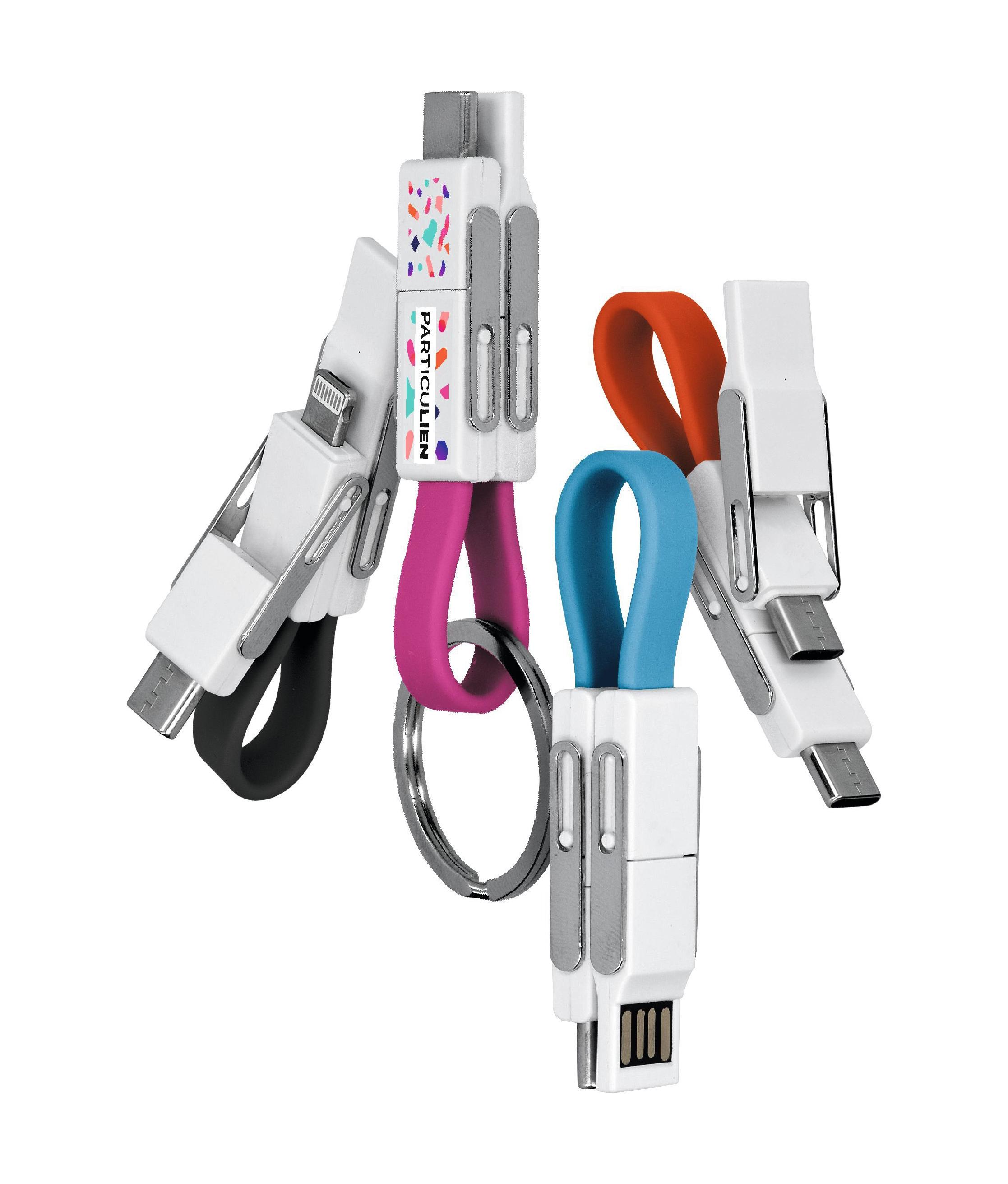 Cable de charge transfert 6-en-1