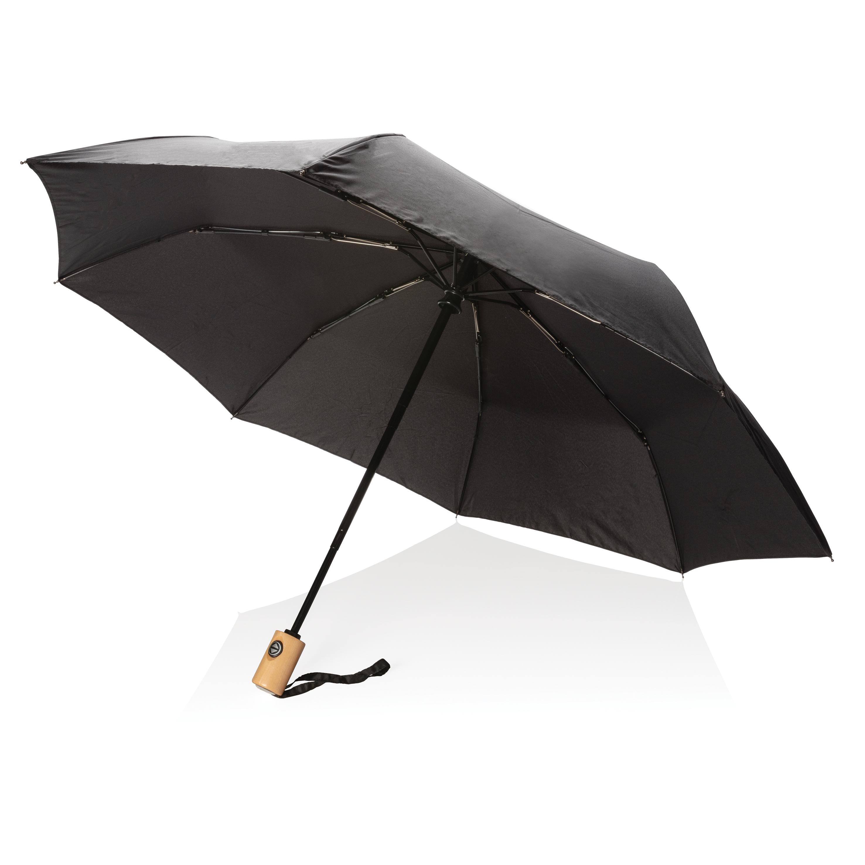 """Parapluie automatique 21"""" en RPET"""