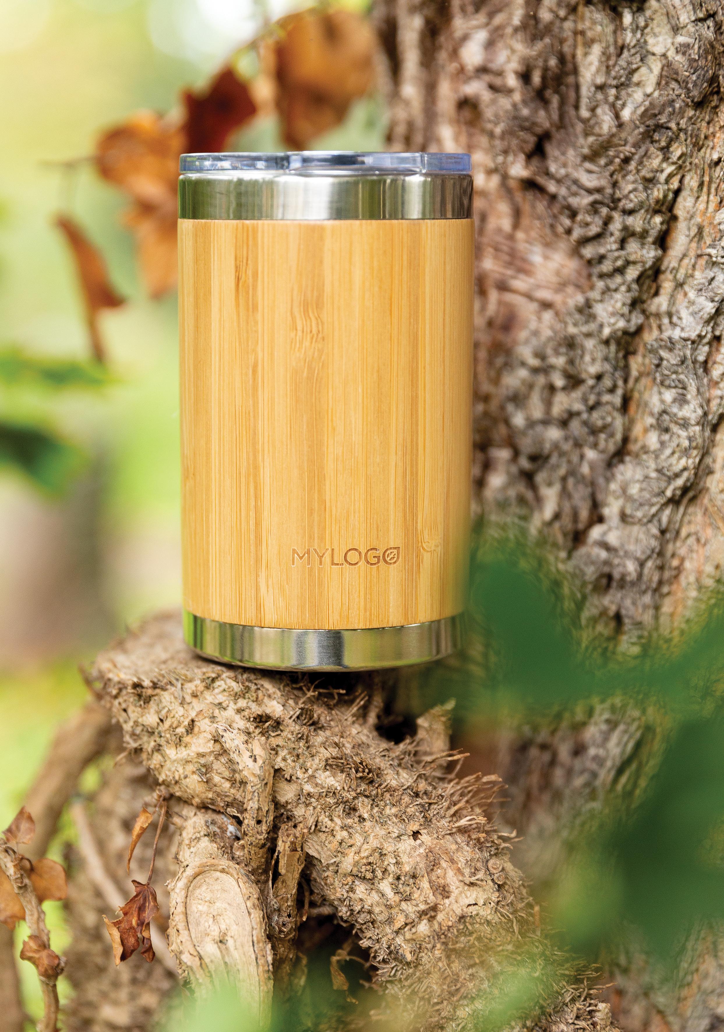 Tasse coffee to go en bambou